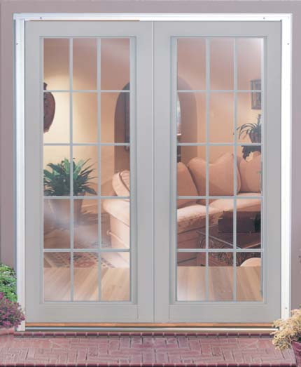 Rollaway doors retractable screen with yellow wall